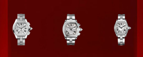 Véritables modèles Cartier Roadster Montre