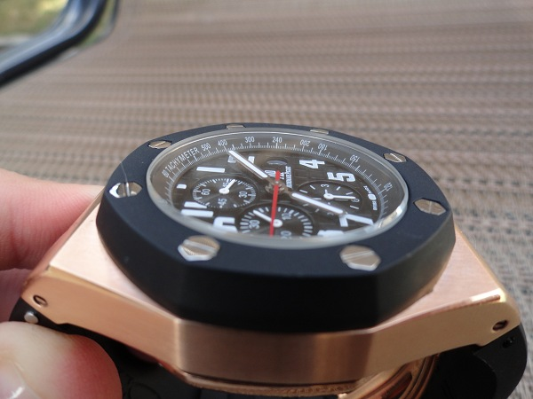 Replique Audemars Piguet Royal Oak Offshore montre en or rose