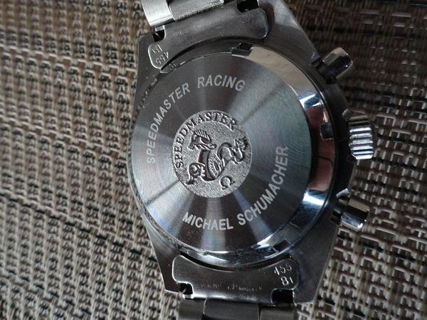 Replique Omega Speedmaster Retour Case Tout Montre en acier inoxydable