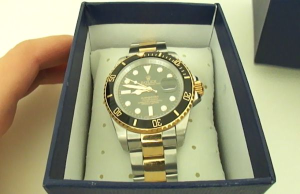 Replique Rolex Submariner Two-Tone Montre