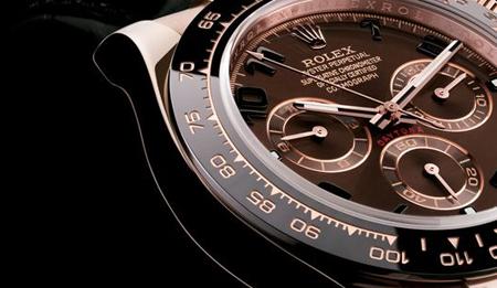 Rolex Daytona replique montre cadran noir chronographes rouges