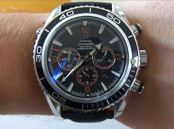 Replique Montre Omega Seamaster Planet Ocean Chrono