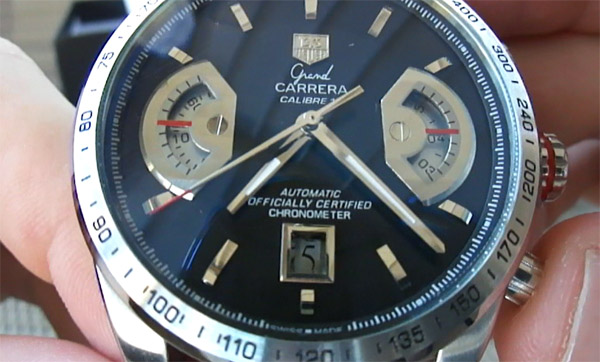 Tag Heuer Grand Carrera Calibre replique 17 montre