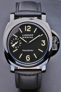 Replique Panerai Luminor Marina cuir noir