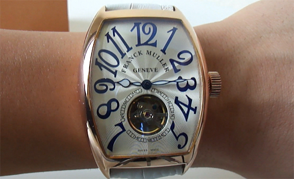 Replique Montre Franck Muller Tourbillon