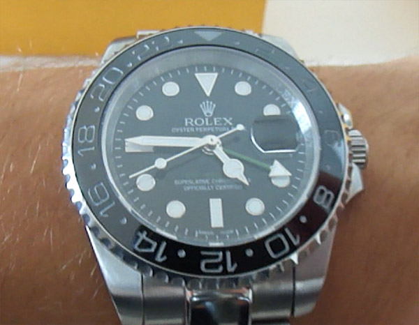 Replique montre Rolex GMT Master II