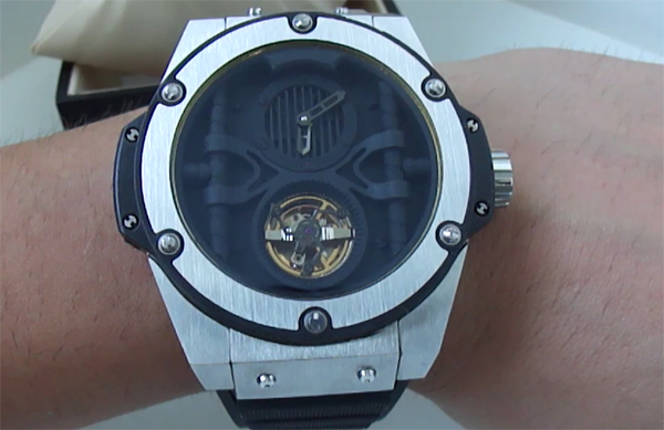 Hublot King Power Troubillon replique montre