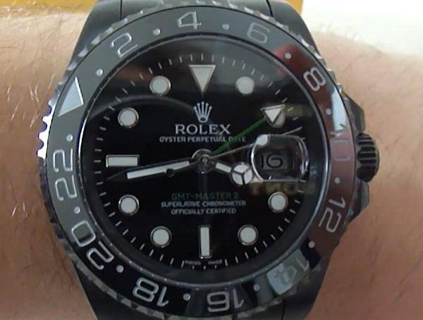 Rolex GMT Master II Pro Hunter contrefaçon montre