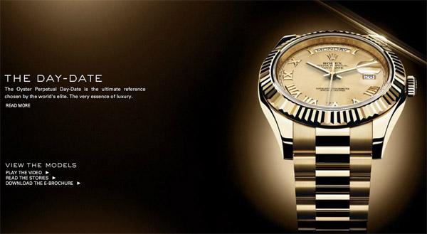Rolex Day-Date véritable modèle pas de replique de montre