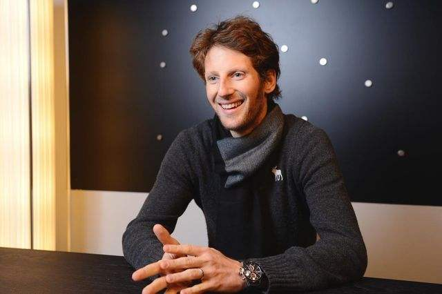 Romain Grosjean Et Montre Tag Heuer