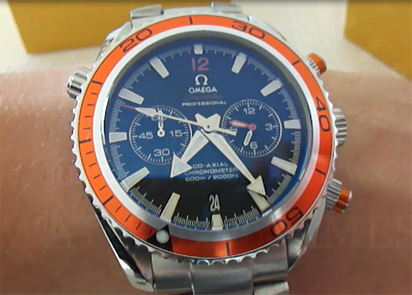 Montre Omega Homme Orange