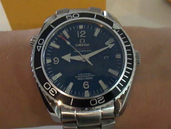Omega Seamaster Quantum of Solace replique montre