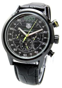 TAG Heuer Carrera Mikrotimer 1000 cadran noir copie montre