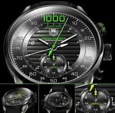 Tag Heuer Carrera Mikrotimer vol 1000 véritable pas fausse montre