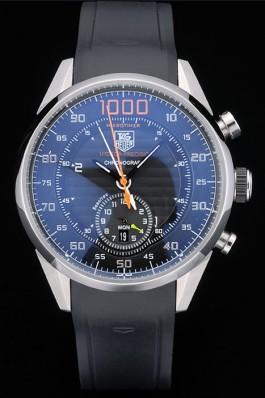 TAG Heuer Carrera Mikrotimer 1000 cadran noir replique montre