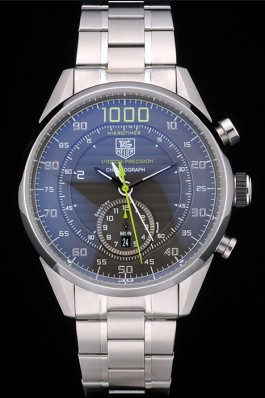 TAG Heuer Carrera Mikrotimer 1000 acier inoxydable fausse montre