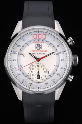 TAG Heuer Carrera Mikrotimer 1000 cadran blanc de montre de la replique