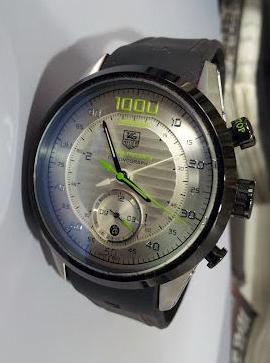 TAG Heuer Carrera Mikrotimer 1000 cadran blanc copie montre
