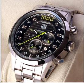 TAG Heuer Carrera Mikrotimer 1000 en acier inoxydable de montre de la replique