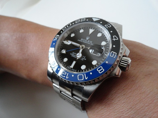 Replique Rolex GMT Master II Batman