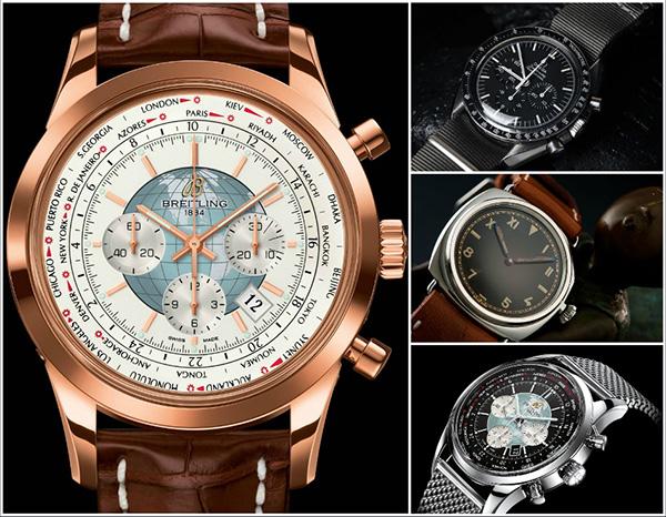 replicas de relojes - des montres breitling, omega, panerai