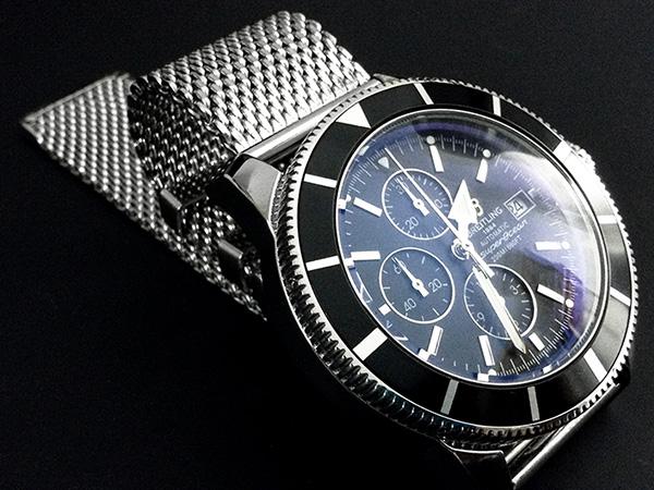 ar revêtement sur le patrimoine Breitling imitation 46 chrono