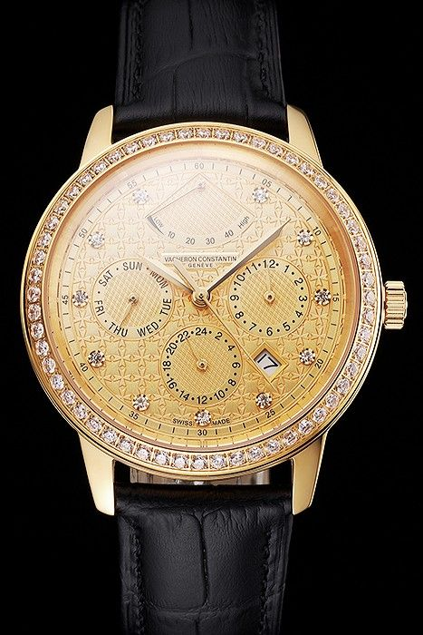 Vacheron Constantin Traditionnelle Réplique Dispose Diamants