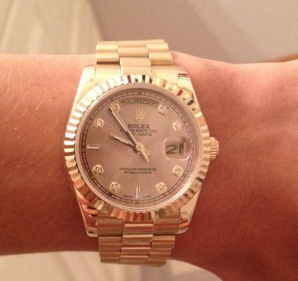 Rolex DayDate De Dame Réplique