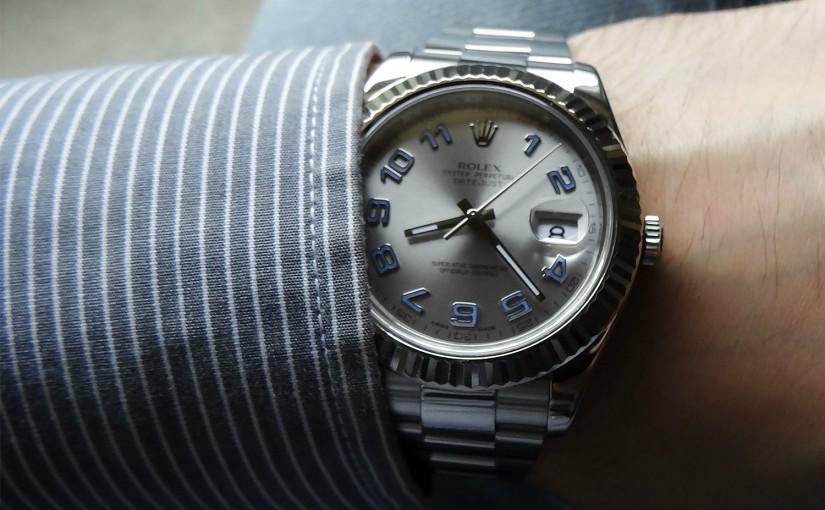 7db78140d52 41MM Rolex Datejust II Copie Montre