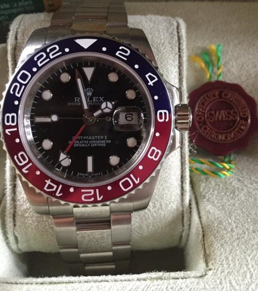 Replique Rolex GMT Master II
