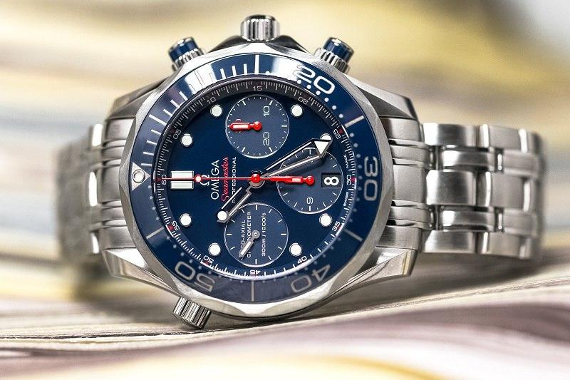 Omega Seamaster Chronographe Montre