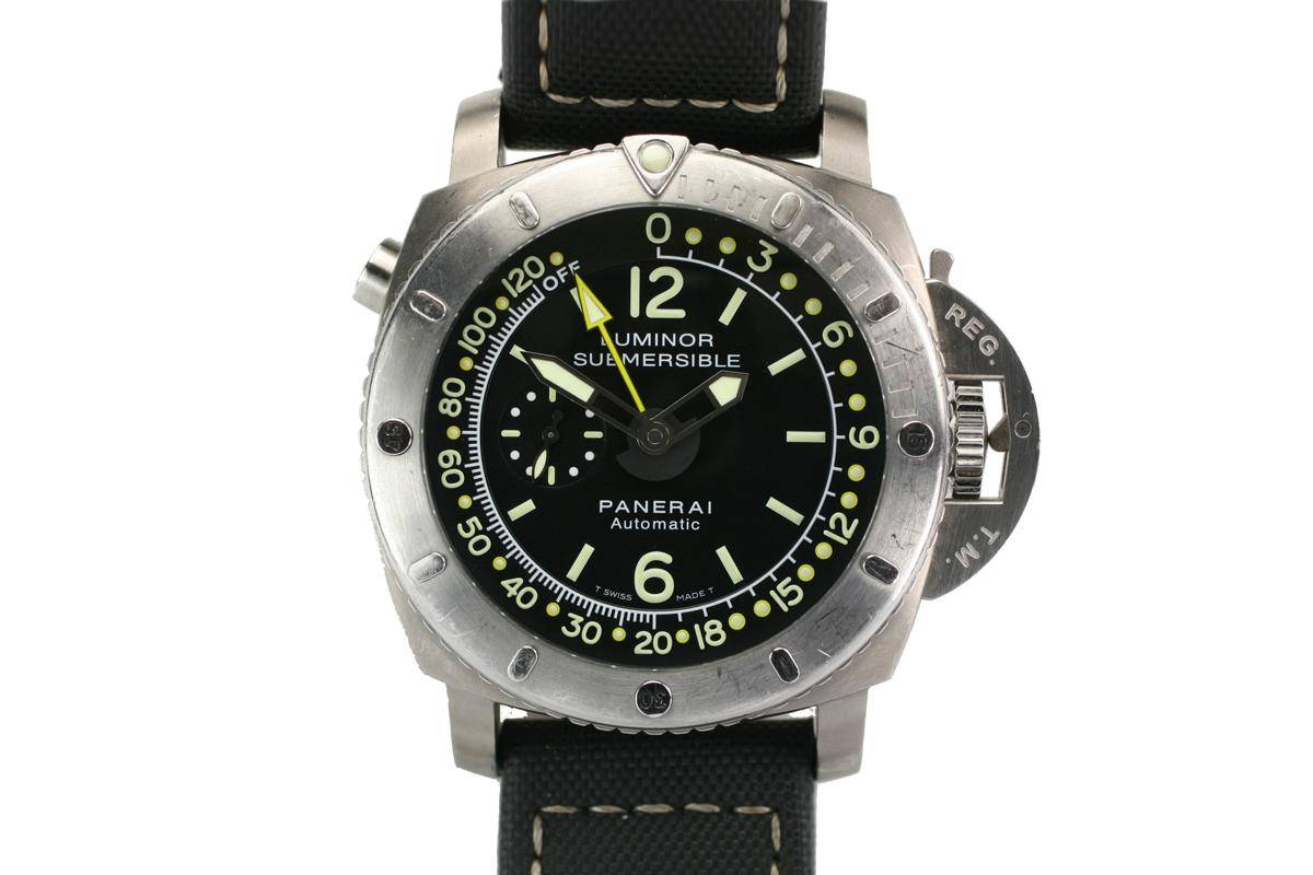 Replique Montre Panerai Luminor Submersible 1950's Depth Gauge
