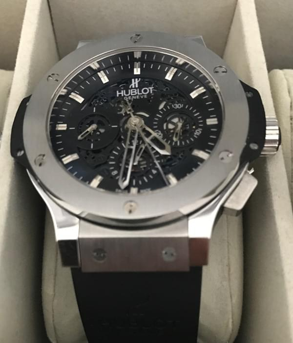 Copie Hublot Aero Bang Skeleton