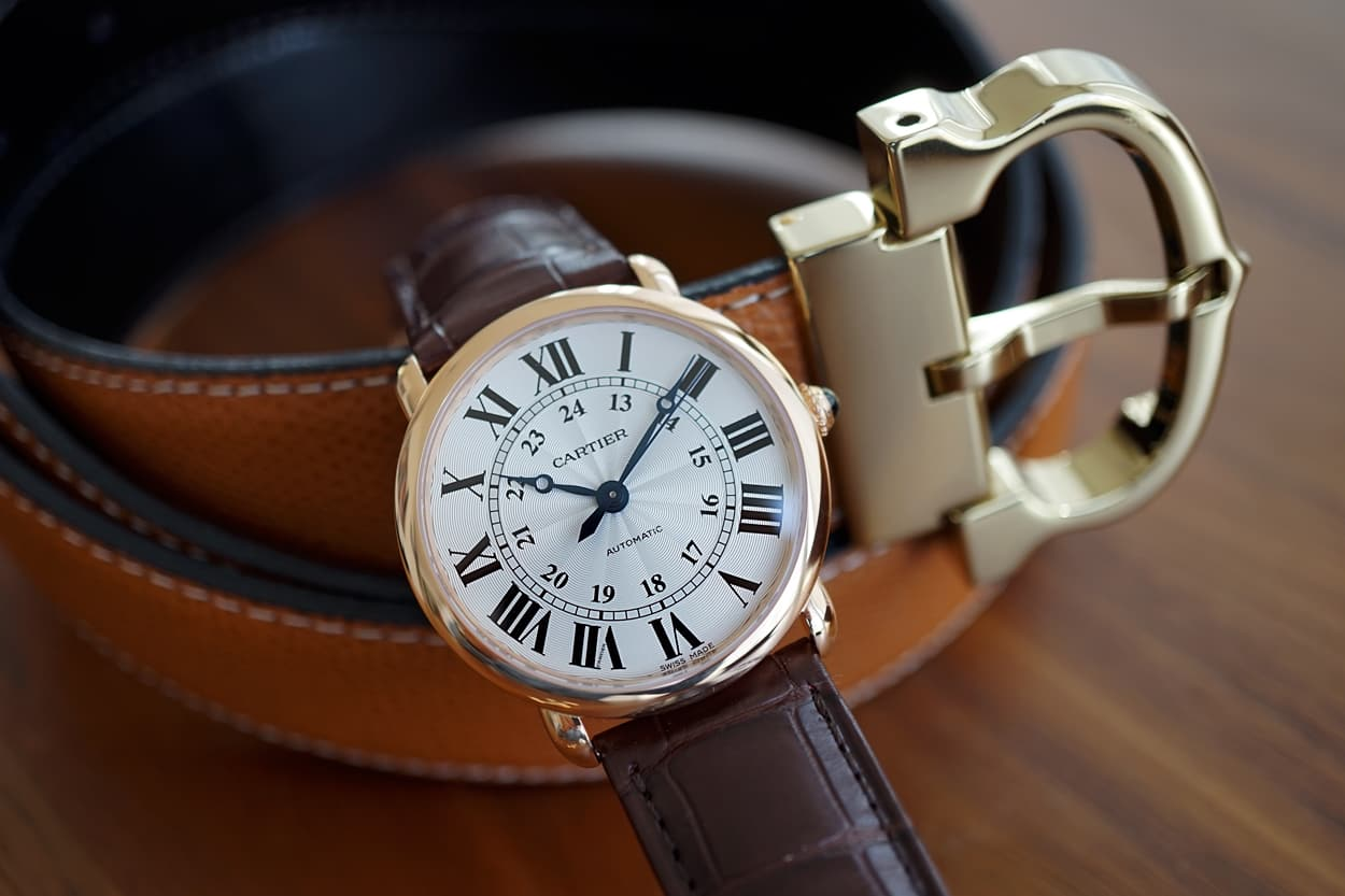 Cartier Ronde Louis Copie Montre De Luxe