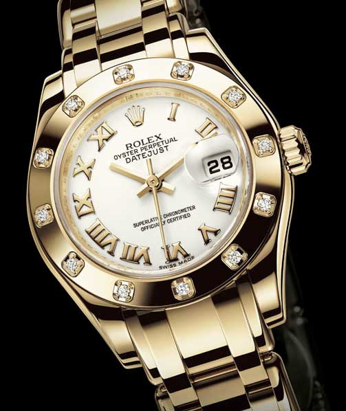 Copie Lady Datejust Pearlmaster