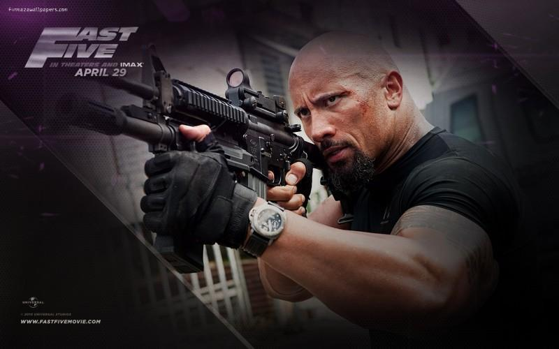 dwayne johnson panerai montre copie