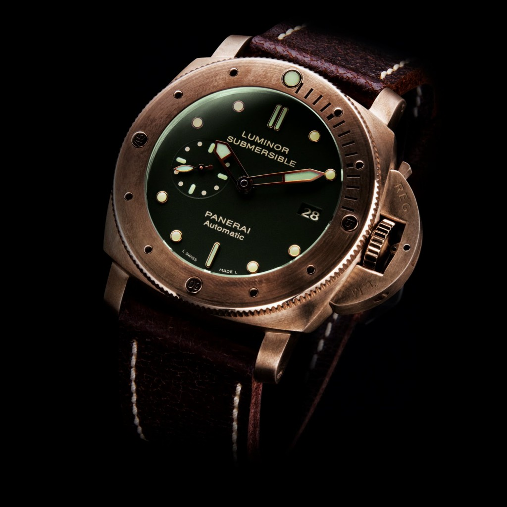 Replique-PANERAI-1950-Luminor-Submersible-3-Days-Bronzo-PAM00382