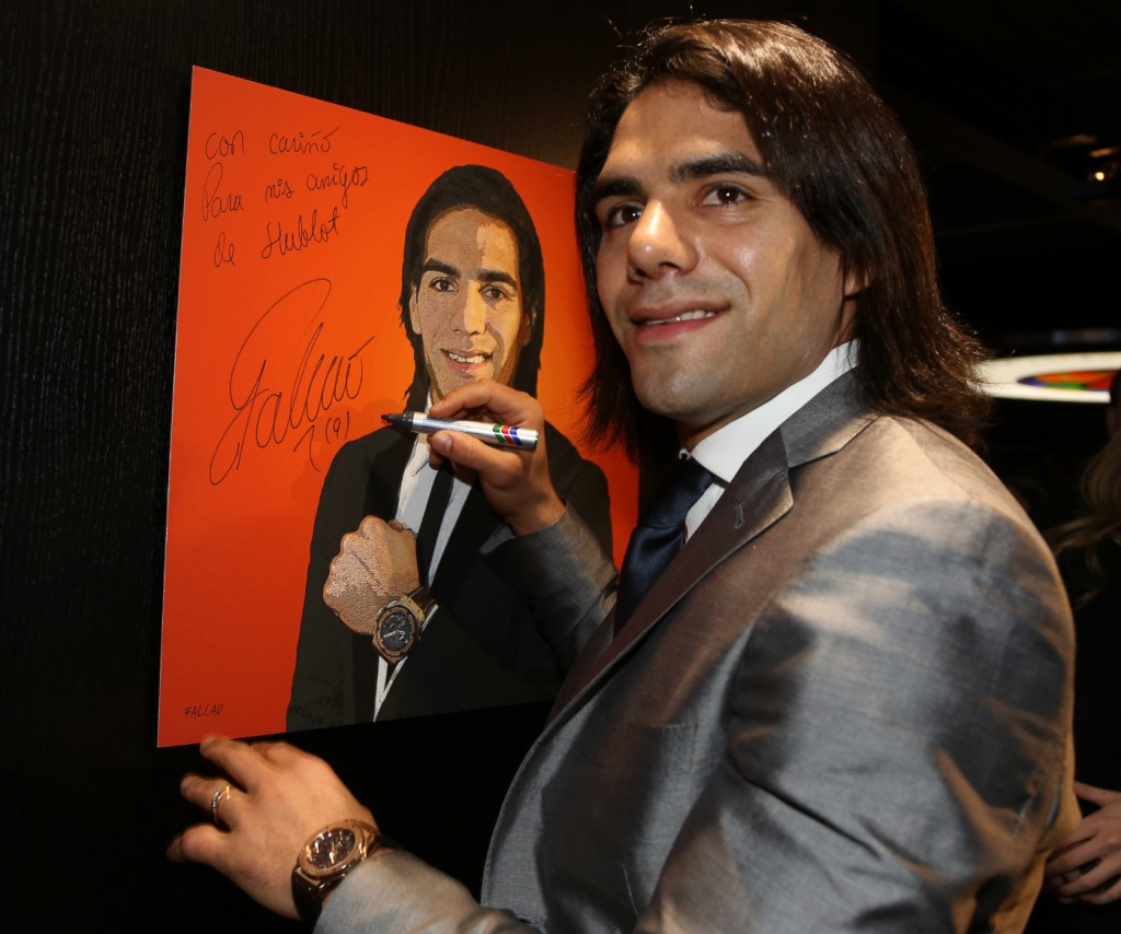 falcao hublot copie montre world