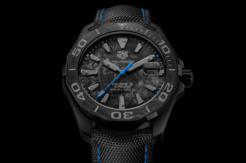 Copie Montre TAG Heuer Carbon Aquaracer