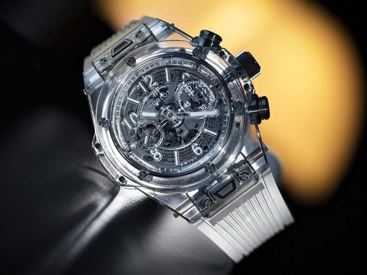 hublot big bang unico sapphire fausse montre