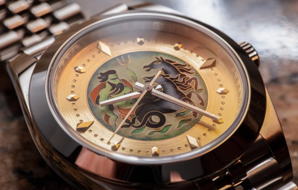 Ematelier Rolex Datejust 41 Cloisonné émail Réplique Montre